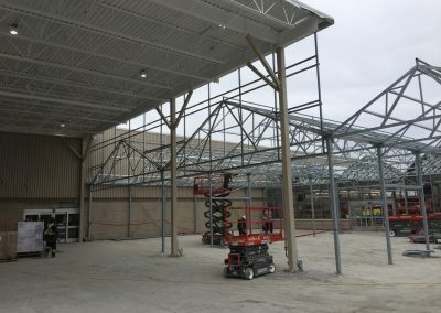steel structures and lifts