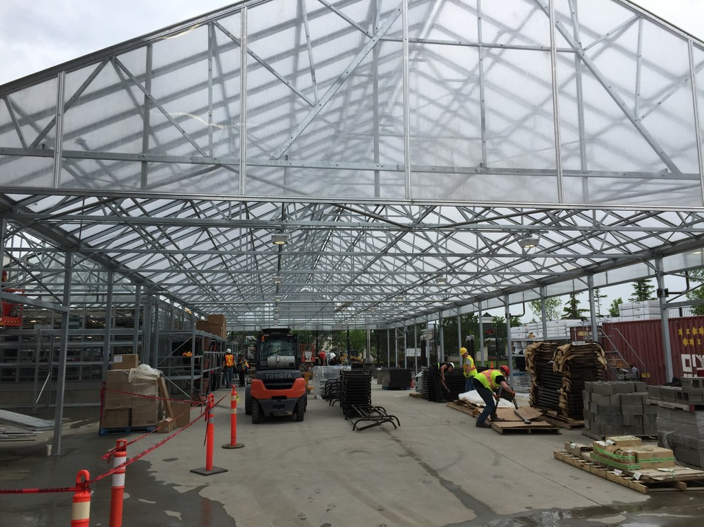 steel fab structures